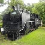 霊丘公園 機関車C1201号