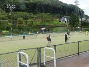 ソフトテニス中地区新人戦
