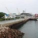 緑地公園から外港