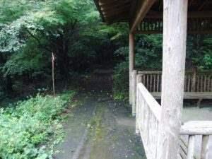 島原遊歩道 休憩所