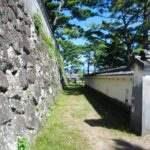 島原城 土塀