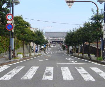 島原城から島原駅