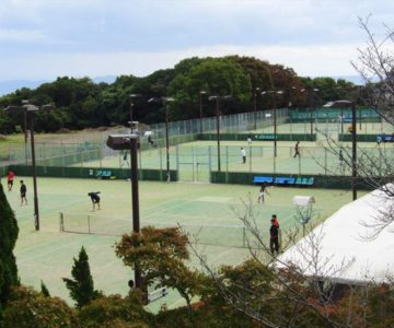 島原総合運動公園 庭球場