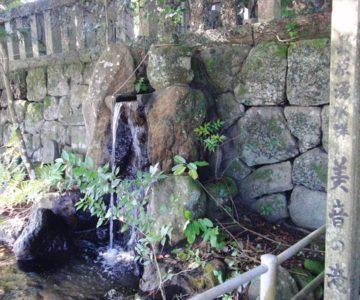 猛島神社 美音の滝