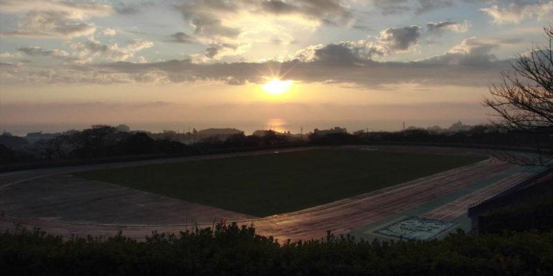 島原総合運動公園 陸上競技場