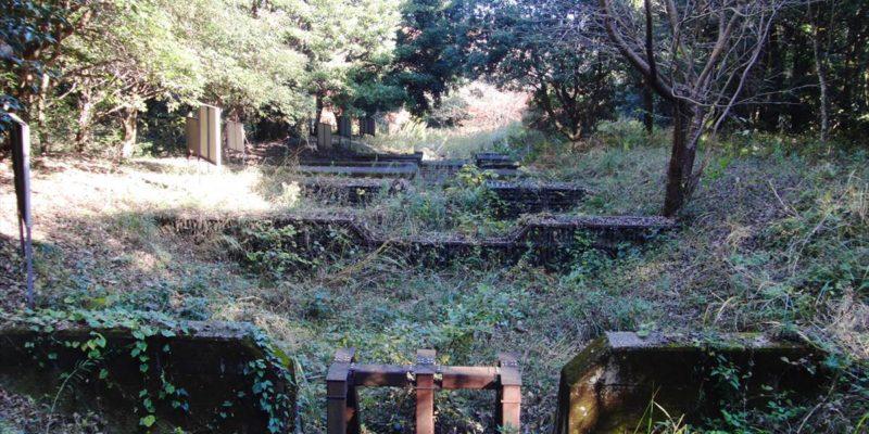 眉山の森遊歩道 砂防ダム