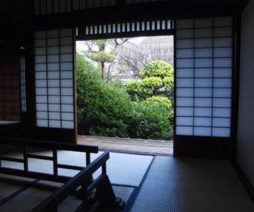 武家屋敷 山本邸からの庭