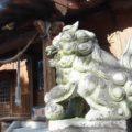 二本木神社 狛犬