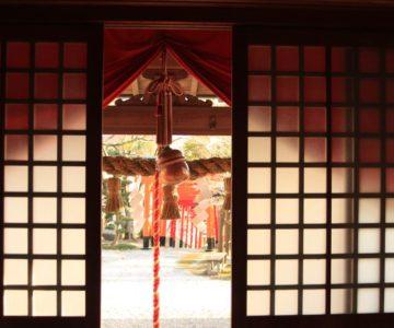 正地 稲荷神社 社殿内