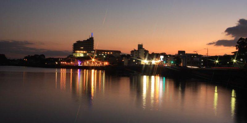島原外港緑地公園 夜景