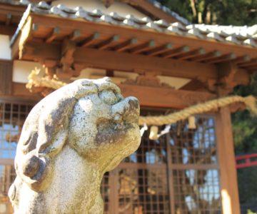 生穂神社 狛犬