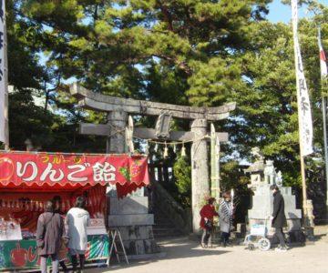 猛島神社 初詣