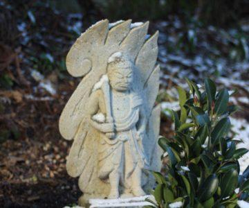 烏兎神社 石造