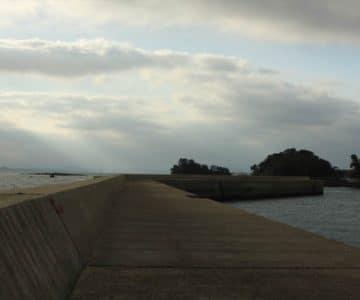 島原海浜公園 堤防