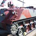 災害派遣装甲車
