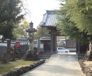 江東寺 山門と石仏