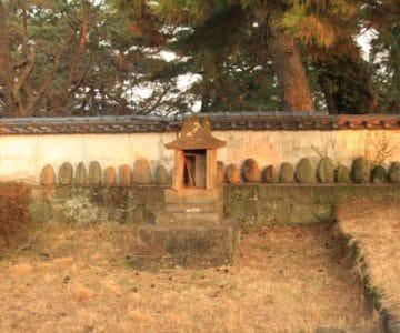 島原護国神社 石祠