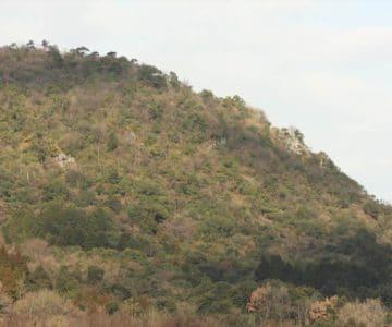 焼山 一枚岩