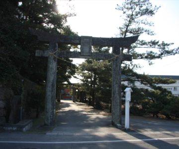 猛島神社 一の鳥居