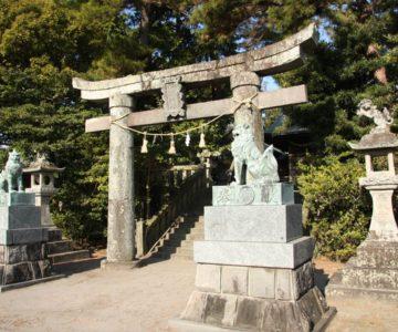 猛島神社 三の鳥居