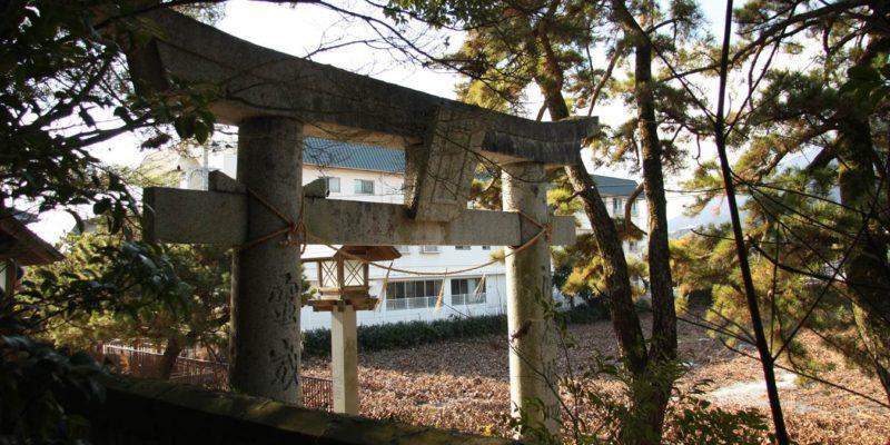 猛島神社 二の鳥居