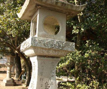 猛島神社 灯篭