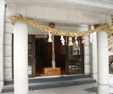 焼山神社 拝殿