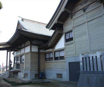三会温泉神社 社殿