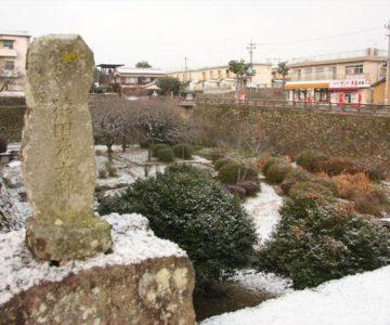 島原城 ホタルのお堀