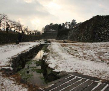 島原城 菖蒲園 お堀