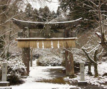 烏兎神社 第一鳥居