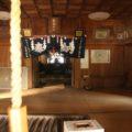 烏兎神社 拝殿