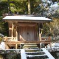 烏兎神社 本殿
