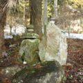 烏兎神社 石碑