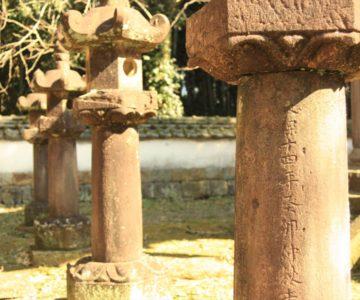 神代神社 石灯籠