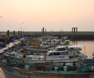 島原海浜公園 漁港