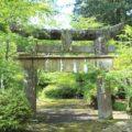 烏兎神社 一の鳥居