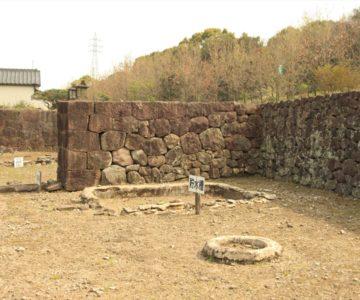 島原藩薬園 貯水槽