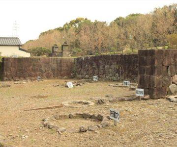 島原藩薬園 貯蔵穴