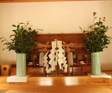 焼山神社 社殿内 御神体