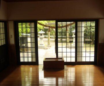 焼山神社 社殿内