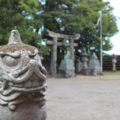 猛島神社 狛犬