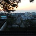 島原城 朝焼け