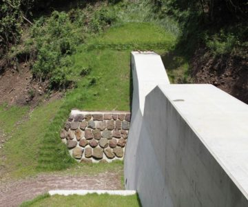 まゆやまロード 砂防ダム