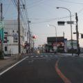 島原駅前信号付近