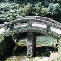 江里神社 社殿前の石橋