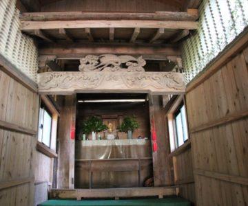 江里神社 神棚
