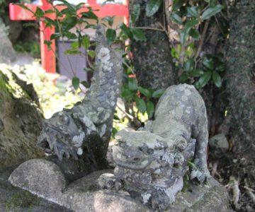 生穂神社 屋根飾り