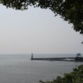 海浜公園の灯台