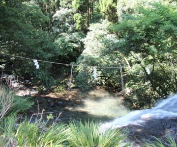 鮎帰りの滝